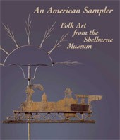 "Image: Book Cover of ""An American Sampler: Folk Art from the Shelburne Museum"""