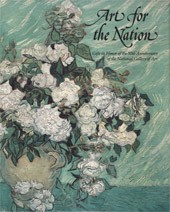 "Image: Book Cover of ""Art for the Nation: Gifts in Honor of the 50th Anniversary of the National Gallery of Art"""