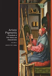 "Image: book cover of ""Artists' Pigments: A Handbook of Their History and Characteristics, Volume 2"""