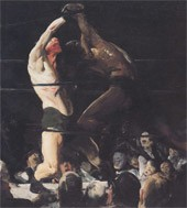 "Image: Book Cover of ""Bellows: The Boxing Pictures"""