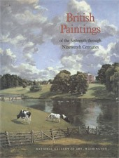 "Image: Book Cover of ""British Paintings of the Sixteenth through Nineteenth Centuries"""