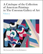 "Image: Book Cover of ""A Catalogue of the Collection of American Paintings in the Corcoran Gallery of Art: Volume 2, Painters Born from 1850 to 1910"""