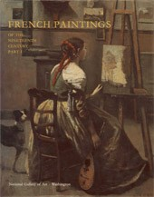 "Image: Book Cover of ""French Paintings of the Nineteenth Century, Part I: Before Impressionism"""