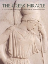 "Image: Book Cover of ""The Greek Miracle: Classical Sculpture from the Dawn of Democracy, the Fifth Century B.C."""