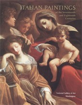 "Image: Book Cover of ""Italian Paintings of the Seventeenth and Eighteenth Centuries"""