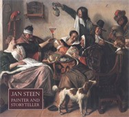 "Image: Book Cover of ""Jan Steen: Painter and Storyteller"""