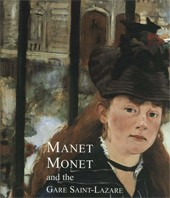 "Image: Book Cover of ""Manet, Monet, and the Gare Saint-Lazare"""