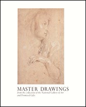 "Image: Book Cover of ""Master Drawings from the Collection of the National Gallery of Art and Promised Gifts"""