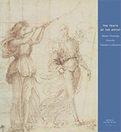 "Image: book cover of ""The Touch of the Artist: Master Drawings from the Woodner Collections"""
