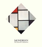 "Image: Book Cover of ""Mondrian: The Diamond Compositions"""