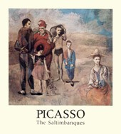 "Image: Book Cover of ""Picasso: The Saltimbanques"""