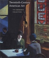 "Image: Book Cover of ""Twentieth-Century American Art: The Ebsworth Collection"""