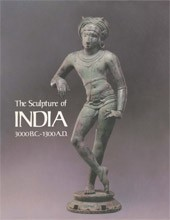 "Image: Book Cover of ""The Sculpture of India, 3000 BC–1300 AD"""