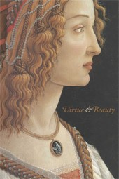 "Image: Book Cover of ""Virtue and Beauty: Leonardo's Ginevra de' Benci and Renaissance Portraits of Women"""