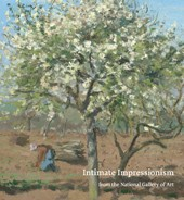 "Image: book cover of ""Intimate Impressionism from the National Gallery of Art"""