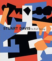 "Image: book cover of ""Stuart Davis: In Full Swing"""