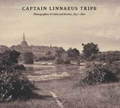 "Image: book cover of ""Captain Linnaeus Tripe: Photographer of India and Burma, 1854 – 1860"""
