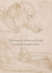 "Image: book cover of ""Drawing in Silver and Gold: Leonardo to Jasper Johns"""