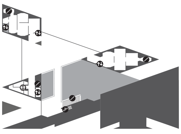 Map of East Building Mezzanine